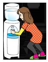 冷たい水は飲まない方がいい?