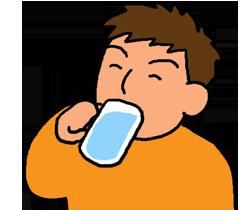 どのタイミングで水を飲むといい?