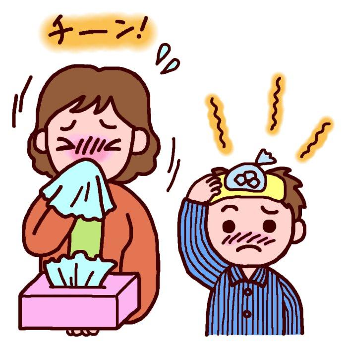 子供が風邪の時の病院に行く目安は?小児科、耳鼻科?どれくらいで治る?