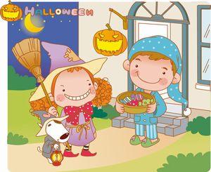 ハロウィンの仮装は子供に何を着せる?また手作りやメイクはどう?