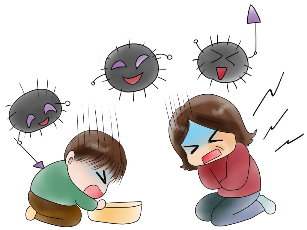 ノロウイルスの予防で4原則って?でR-1ヨーグルトは?クレベリンは?