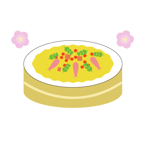 ちらし寿司をひな祭りに食べるのはなぜ?由来は?意味は?